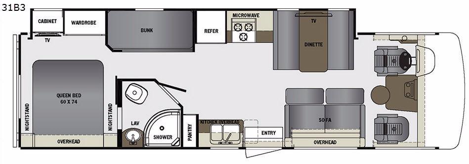 Georgetown 3 Series 31B3 Floorplan Image