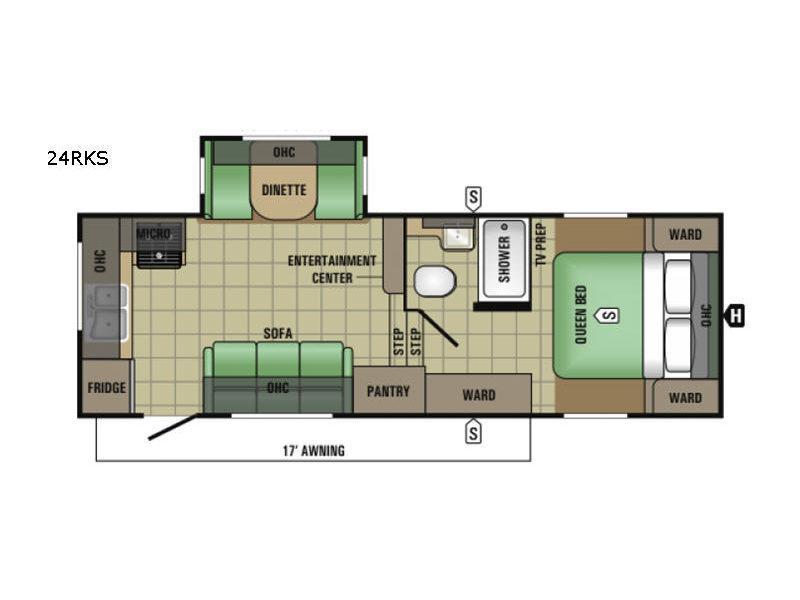 AR-ONE MAXX 24RKS Floorplan Image