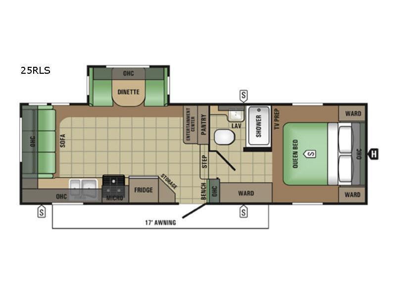 AR-ONE MAXX 25RLS Floorplan Image