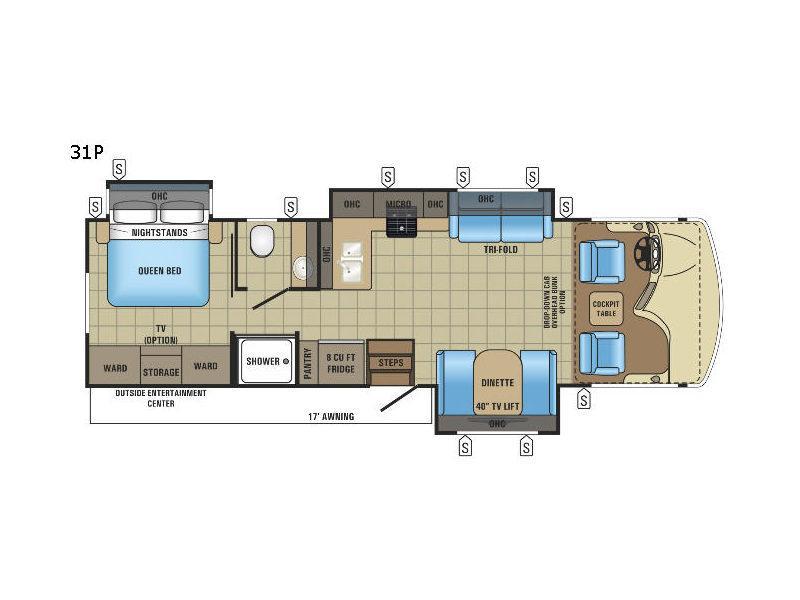 Alante 31P Floorplan Image