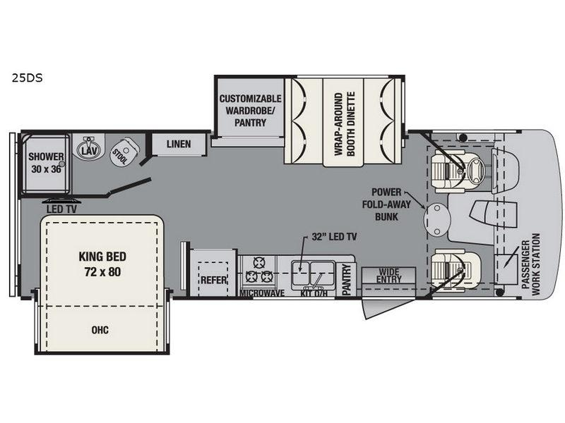 FR3 25DS Floorplan Image