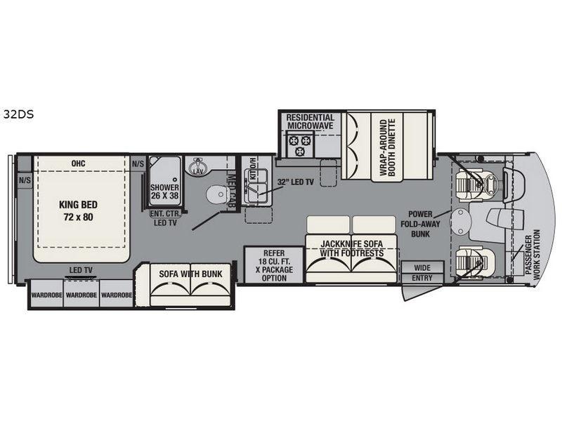 FR3 32DS Floorplan Image