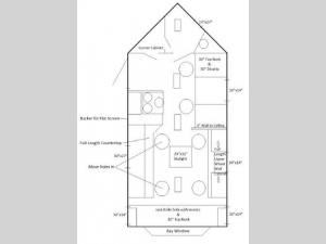 Ice Castle Fish Houses Ice Houses   RV Sales   FloorplansIce Castle Fish Houses Walleye Tracker