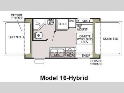Used 2009 Forest River RV Cherokee Grey Wolf 16 Hybrid