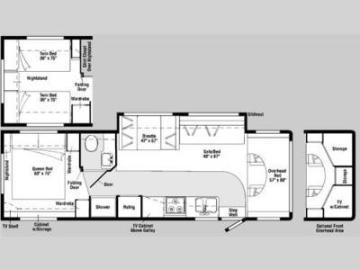 used 2006 winnebago outlook 31c motor home class c at. Black Bedroom Furniture Sets. Home Design Ideas