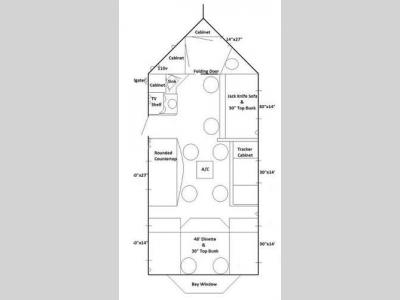 New Ice Castle Fish Houses Ice Fish Houses Mille Lacs Hybrid    Floorplan   Ice Castle Fish Houses Ice Fish Houses Mille Lacs Hybrid