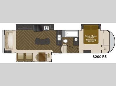 Used 2013 heartland gateway 3200rs fifth wheel at general for Table 6 north canton oh
