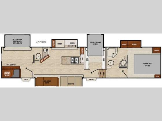 New 2016 Coachmen Rv Chaparral 371mbrb Fifth Wheel At Fun
