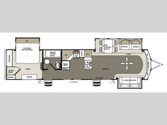 New 2014 Forest River Rv Sandpiper 393ck Destination