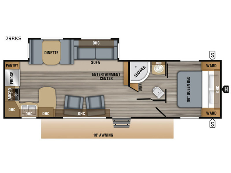 New 2019 Jayco Jay Flight 29RKS Travel Trailer at Crestview