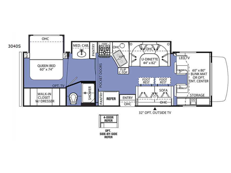 New 2019 Forest River RV Sunseeker 3040S Ford Motor Home Cl C Rv Motorhomes Floor Plans on 24' motorhome floor plans, type b motorhome floor plans, rv bunk floor plans, heavy equipment floor plans, motorhome repair floor plans, shasta rvs floor plans, class b rv floor plans, fleetwood rv floor plans, small rv floor plans, class c rv floor plans, rv cabins floor plans, rv dealers floor plans, motorhome with bunks floor plans, class a rv floor plans, large rv floor plans, mobile home floor plans, tour motorhome floor plans, luxury motorhome floor plans, rv toy haulers floor plans, rv home floor plans,