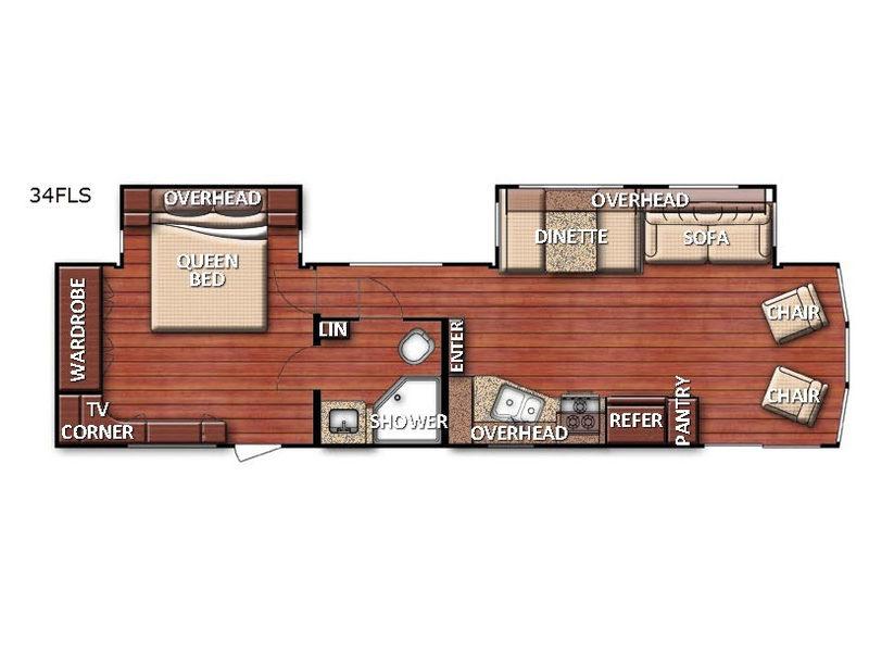 New 2020 Gulf Stream Rv Innsbruck Lodge Series 34fls Destination Trailer