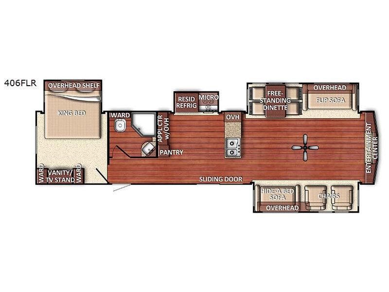 New 2020 Gulf Stream Rv Innsbruck Lodge Series 40den Destination Trailer