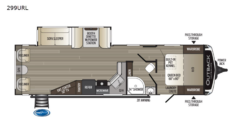 New 2020 Keystone RV Outback Ultra Lite 299URL Travel