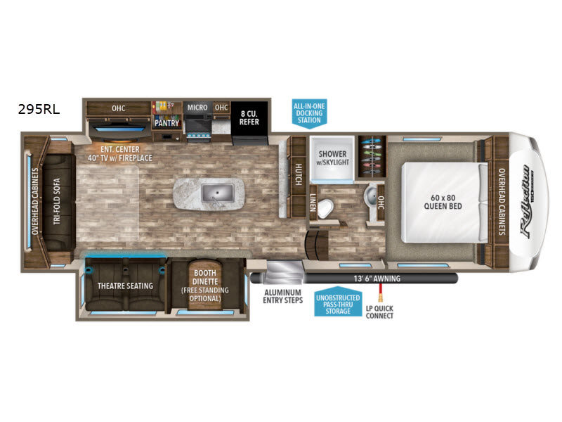 Used 2018 Grand Design Reflection 295rl Fifth Wheel For Sale At Blue