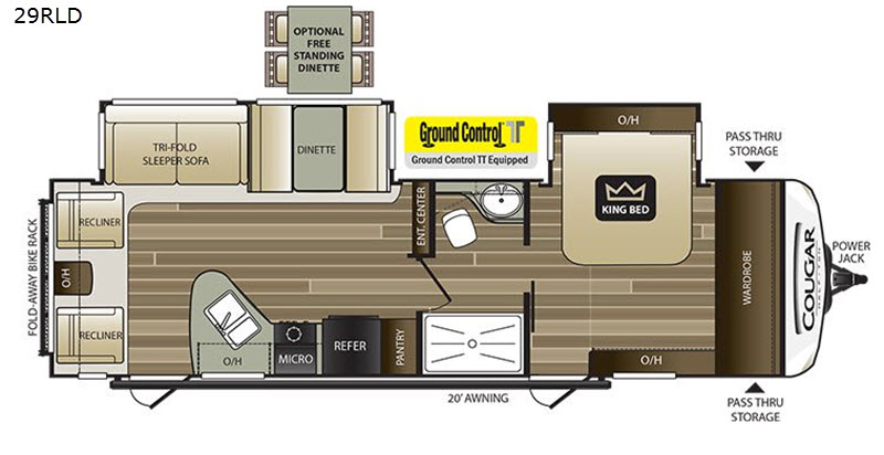 New 2018 Keystone RV Cougar Half-Ton Series 29RLD Travel Trailer Keystone Rv Thermostat Wiring Diagrams on heat pump thermostat diagram, honeywell thermostat installation diagram, rv thermostat replacement, rv thermostat duo therm air conditioner, home thermostat diagram, hvac thermostat diagram, thermostat connection diagram, rv thermostat wiring color code, rv wall thermostat, circuit diagram, how a thermostat works diagram, rv comfort coleman mach thermostat, 3 wire thermostat diagram, rv thermostat cover, rv ac thermostat wiring, rv wiring schematics, rv furnace thermostat wiring, rv air conditioning diagram, rv refrigerator diagram, rv thermostat upgrade,