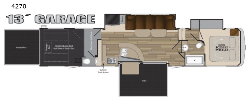 New 2019 Heartland Cyclone 4270 Toy Hauler Fifth Wheel At Big Daddy