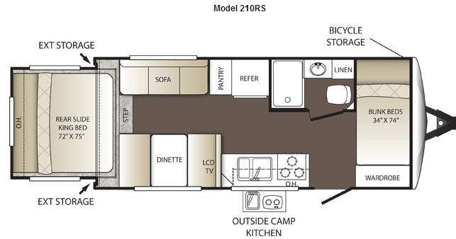 Used 2013 Keystone Rv Outback 210rs Travel Trailer At Vermont