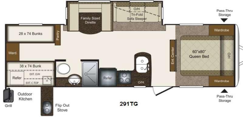 Outdoor kitchen floor plan rvs gurus floor for Outdoor kitchen floor plans