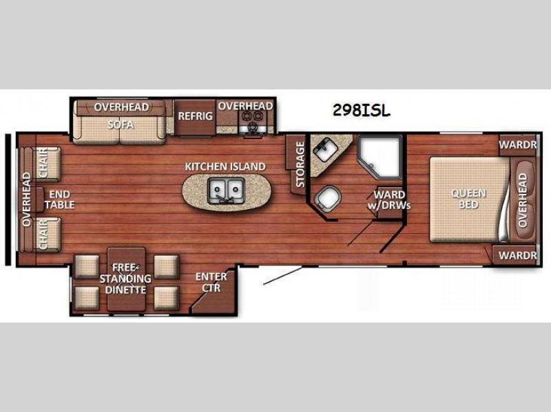 2016 Gulf Stream RV Innsbruck 298ISL This Gulf Stream CoachInnsbruck rear living double slide tr