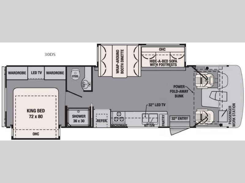 2016 Forest River RV FR3 30DS You are sure to enjoy the FR3 30DS Class A gas motor home by Forest