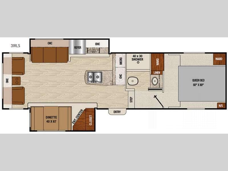 2017 Coachmen RV Chaparral X-Lite 31RLS Camp comfortably in this Chaparral X-Lite fifth wheel mode