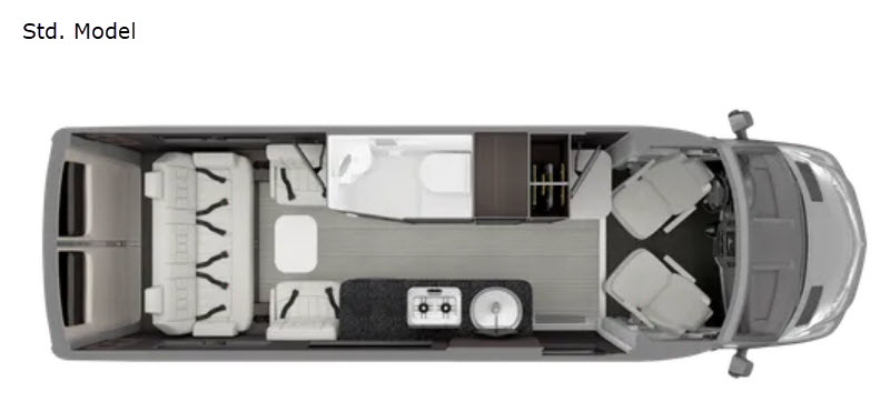 New 2021 Airstream RV Interstate 24GT Std. Model