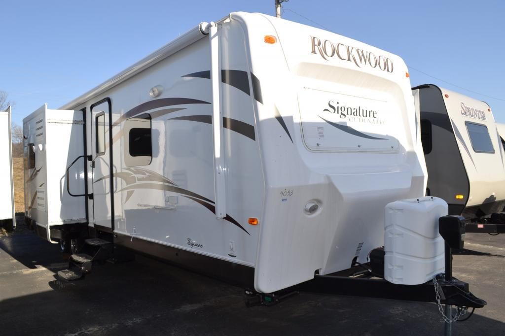 New 2015 Forest River RV Rockwood Signature Ultra Lite 8293IKRBS Photo