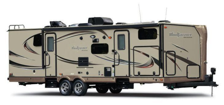 New 2017 Forest River RV Rockwood Wind Jammer 3008W Photo