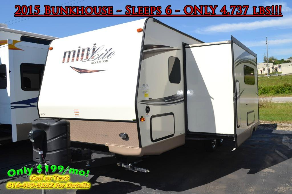 Used 2015 Forest River RV Rockwood Mini Lite 2504S Photo