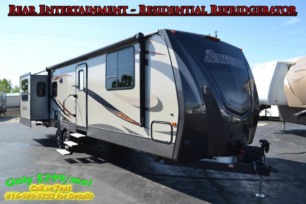 New 2016 Keystone RV Sprinter 299RET Photo