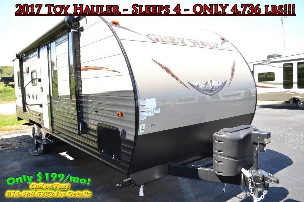 New 2017 Forest River RV Cherokee Grey Wolf 22RR Photo