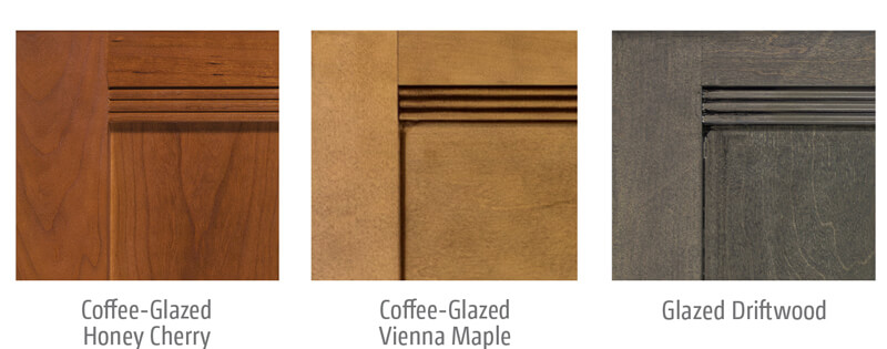Winnebago Aspect Cabinet Wood Options