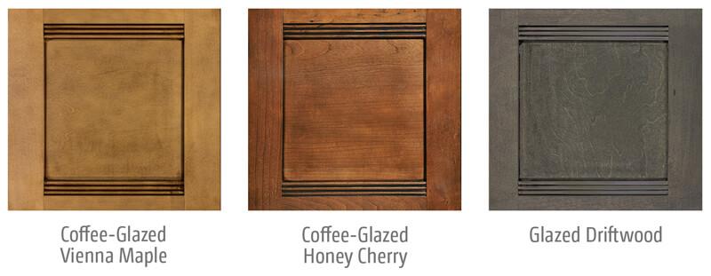 Winnebago Forza Wood Cabinet Options