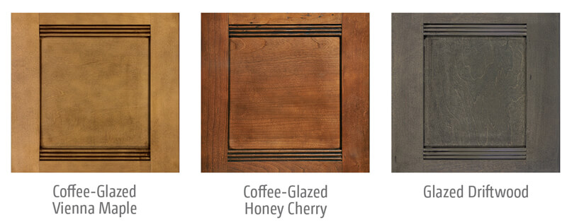 Itasca Solei Wood Cabinet Options
