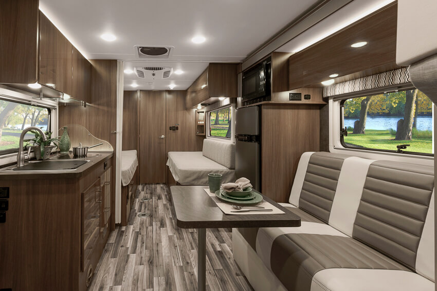 Wonderful Trend  Interior  Bedroom And Bathroom  Winnebago RVs