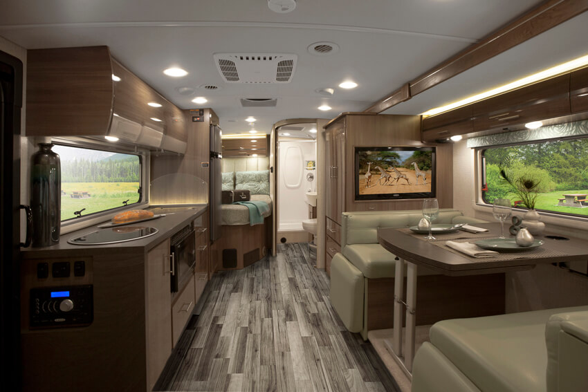 Winnebago Via Interior
