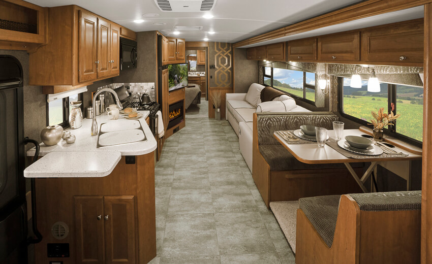 Winnebago Vista LX Interior