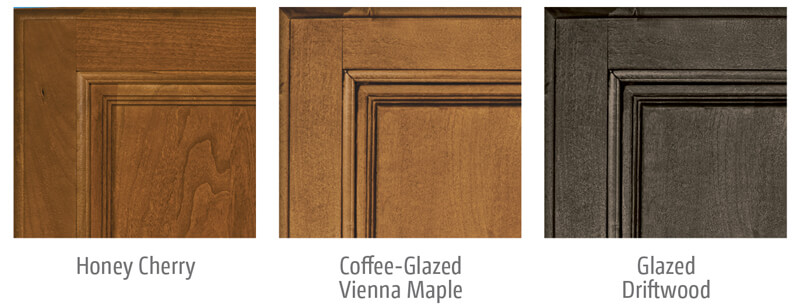 Winnebago Vista and Vista LX Cabinet Wood Options