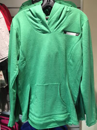 Green Cross V Long Sleeve Top