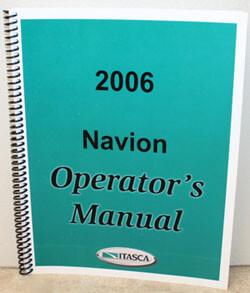 2006 Itasca Navion Operator's Manual