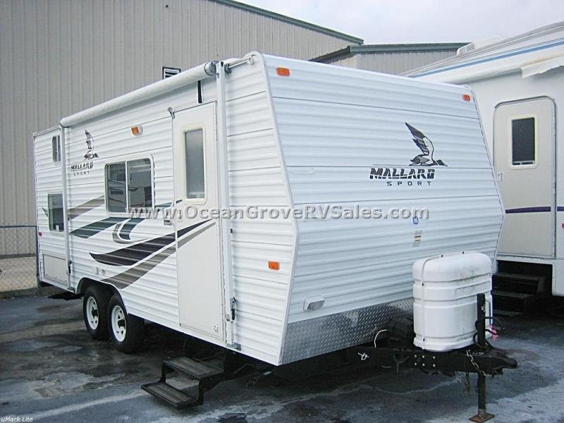 Used 2007 Fleetwood RV Mallard Sport 18CK Travel Trailer at