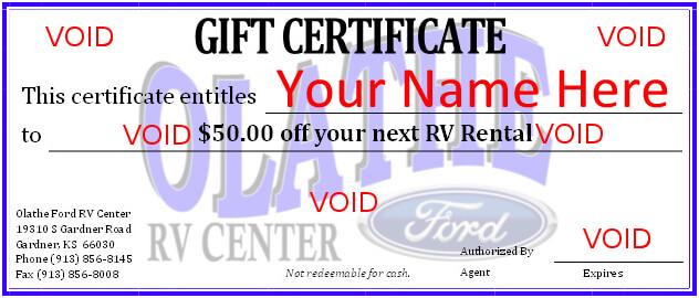 Olathe Ford Rv Rentals