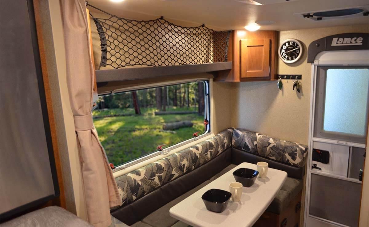 Lance 650 Truck Camper - Half ton owners rejoice!