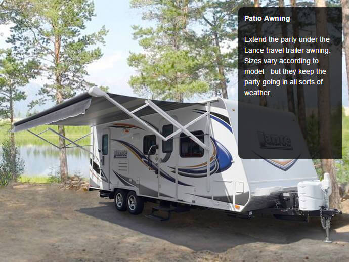 Lance 1475 Travel Trailer - Simplification     Identify what