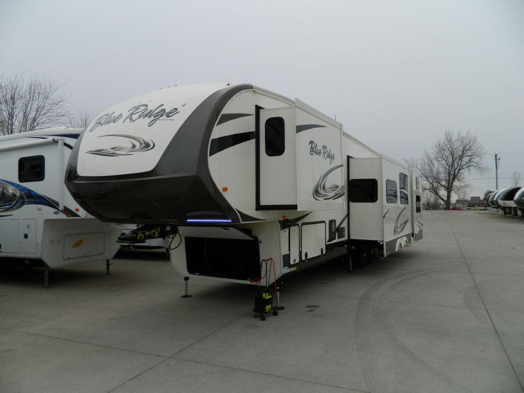New 2016 Forest River RV Blue Ridge 3715BH Photo