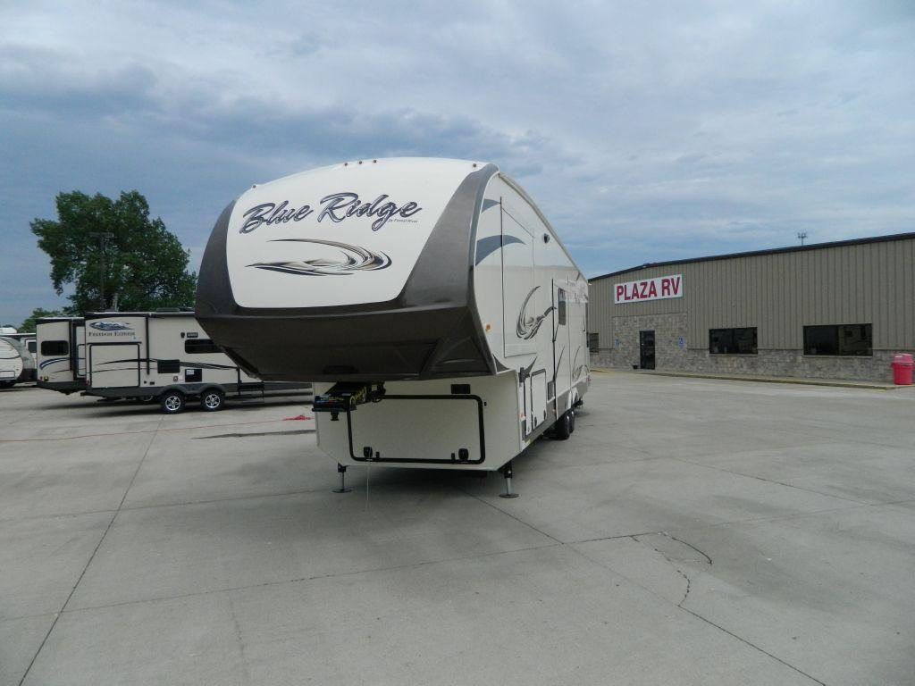 New 2016 Forest River RV Blue Ridge 3780LF Photo