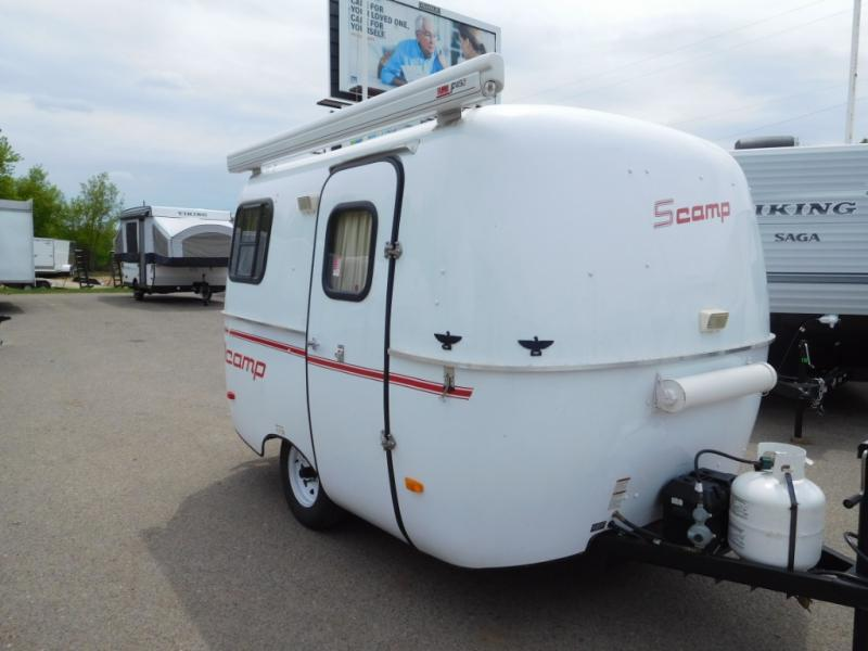 Used 2016 Scamp Scamp 13 Foot 13 Foot Front Bathroom Travel Trailer