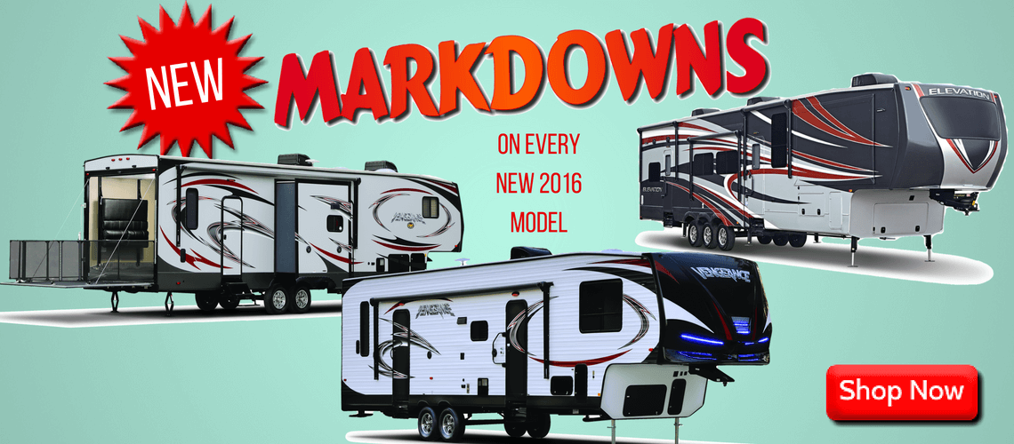Toy Hauler Markdowns