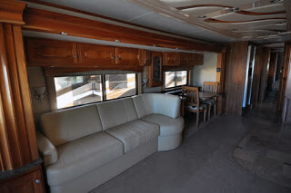 RV, Coach Remodeling, Replace Cabinetry, Tile, Furniture